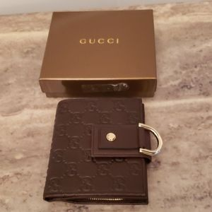 NEVER USED GUCCI LADIES WEB GG WALLET